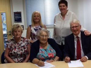 Braunstone Health Centre Signing