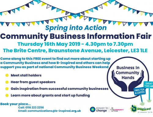 Spring into Action – Community Business Information Fair