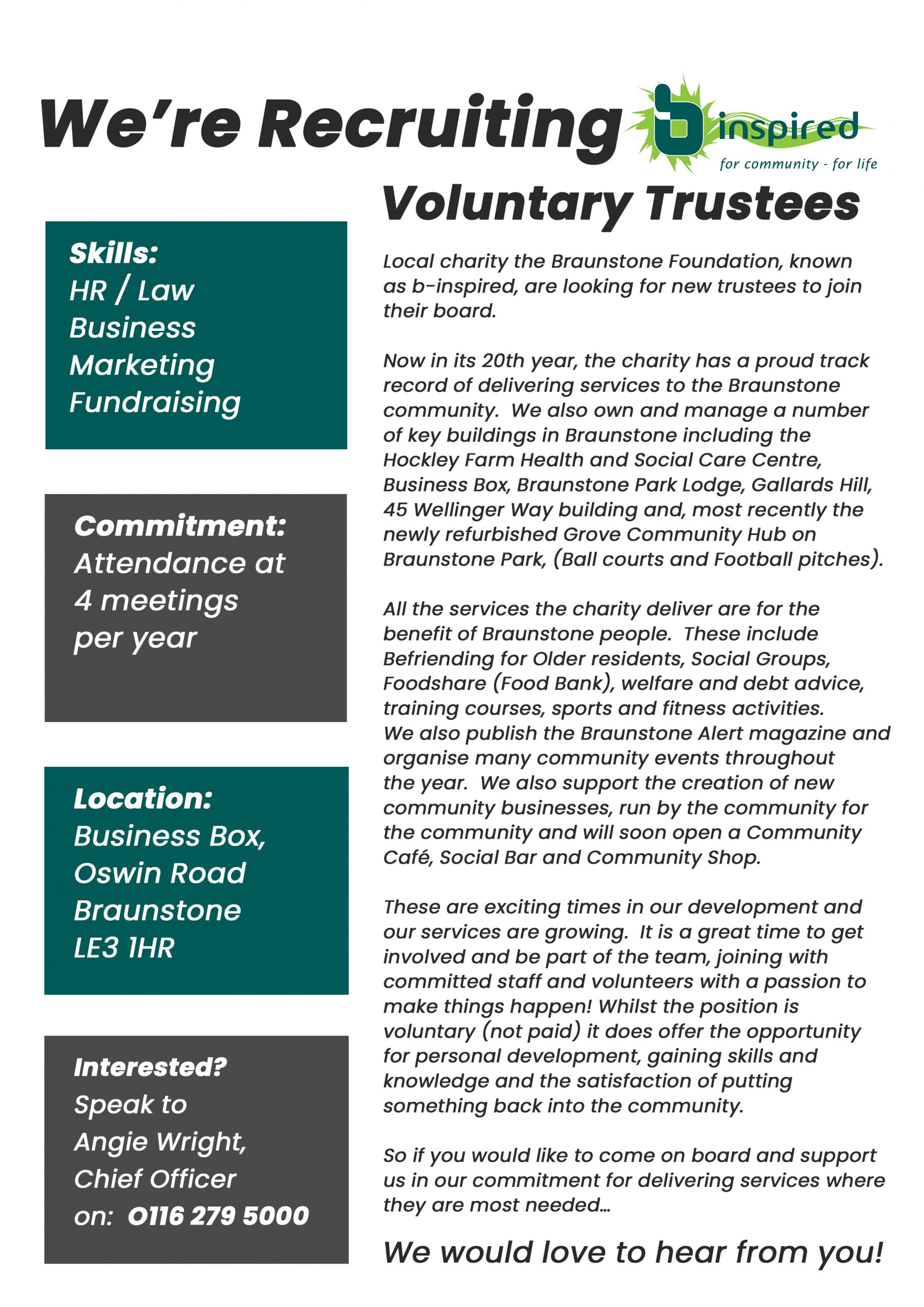 Trustee Advert