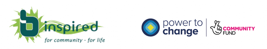 B-inspired / Power to Change Logos
